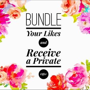 Other - 🌷 Bundle all of your likes for a personal offer!